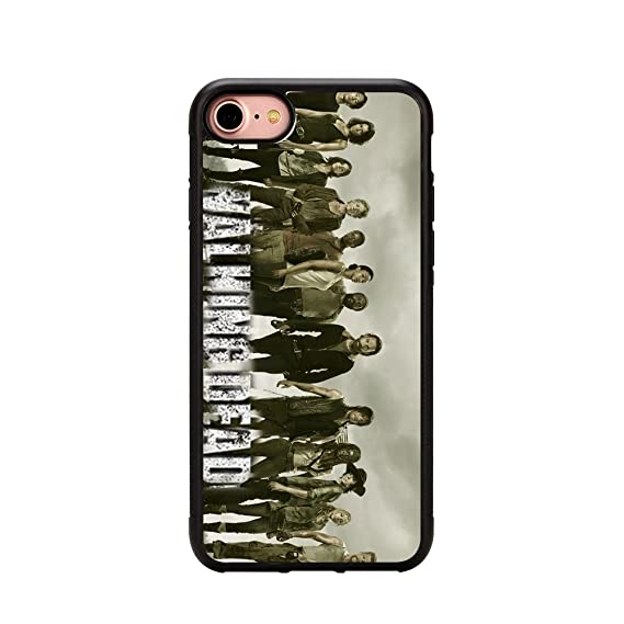 The The Walking Dead iPhone 7 Case,The Walking Dead TPU case for iPhone 7  (4 7 inch)
