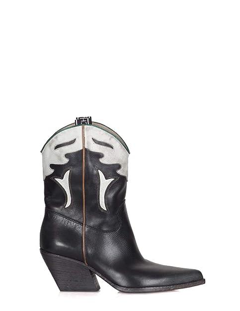 più recente prezzo moderato selezione mondiale di Elena Iachi - Stivali Donna Bianco/Nero E2016 Nero/Bianco ...