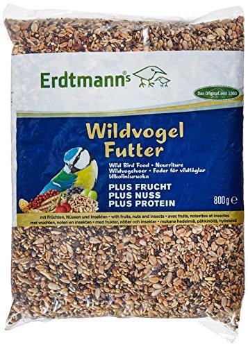 Erdtmanns 9 by 6 by 2-Inch Wild Bird Food Plus, 1.75-Pound