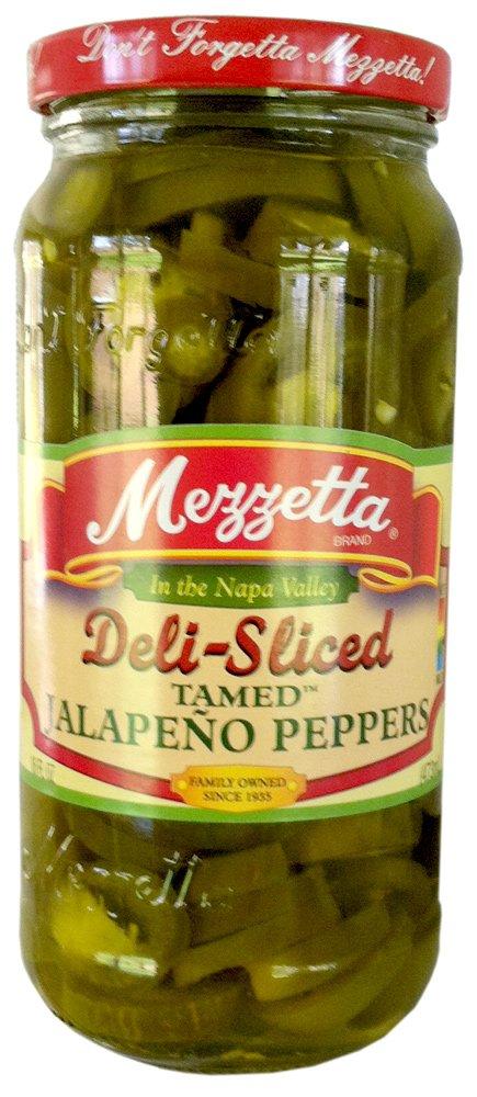 Mezzetta Pepper Jalpno Less Heat Deli S by Mezzetta