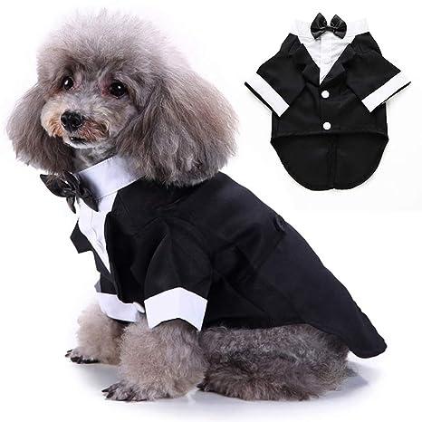 Legendog Ropa para Perros Hidalgo Tuxedo Traje Mascota Perro ...
