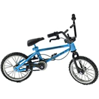 Baoblaze 1:24 Metal Finger Bicycle Toy for Children Creative Tech Toy Gift Blue Bike Model Teaching Tool