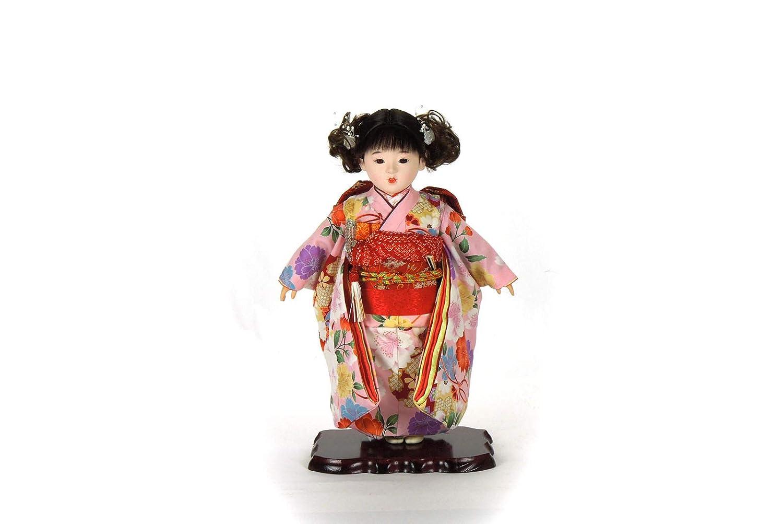 市松人形 13号わらべ人形日本人形 8-21   B07L9BYF26