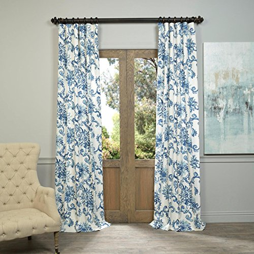 blue and white curtains - 3
