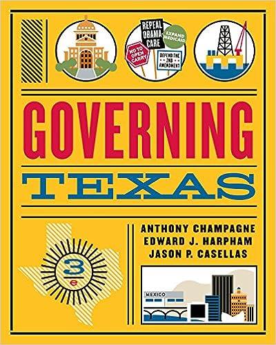 GOVERNING TEXAS EBOOK