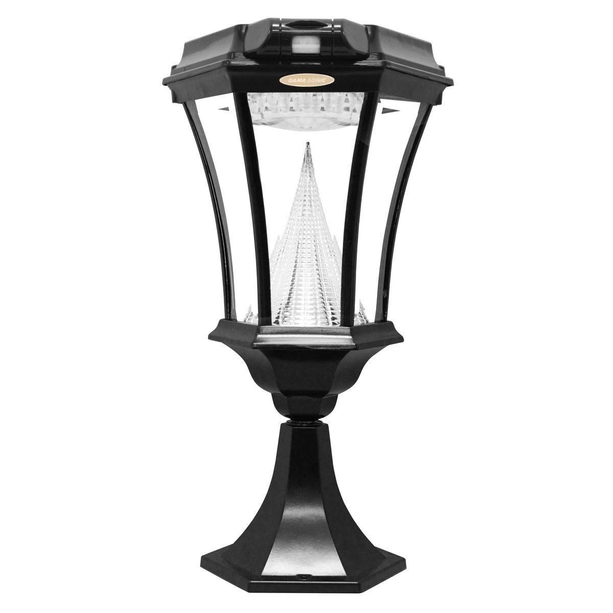 amazon com gama sonic victorian solar outdoor lamp with motion