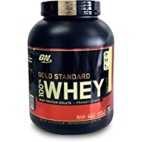 Optimum Nutrition Gold Standard 1 Whey Vanilla Ice-cream Protein Powder, 2.27 Kilograms