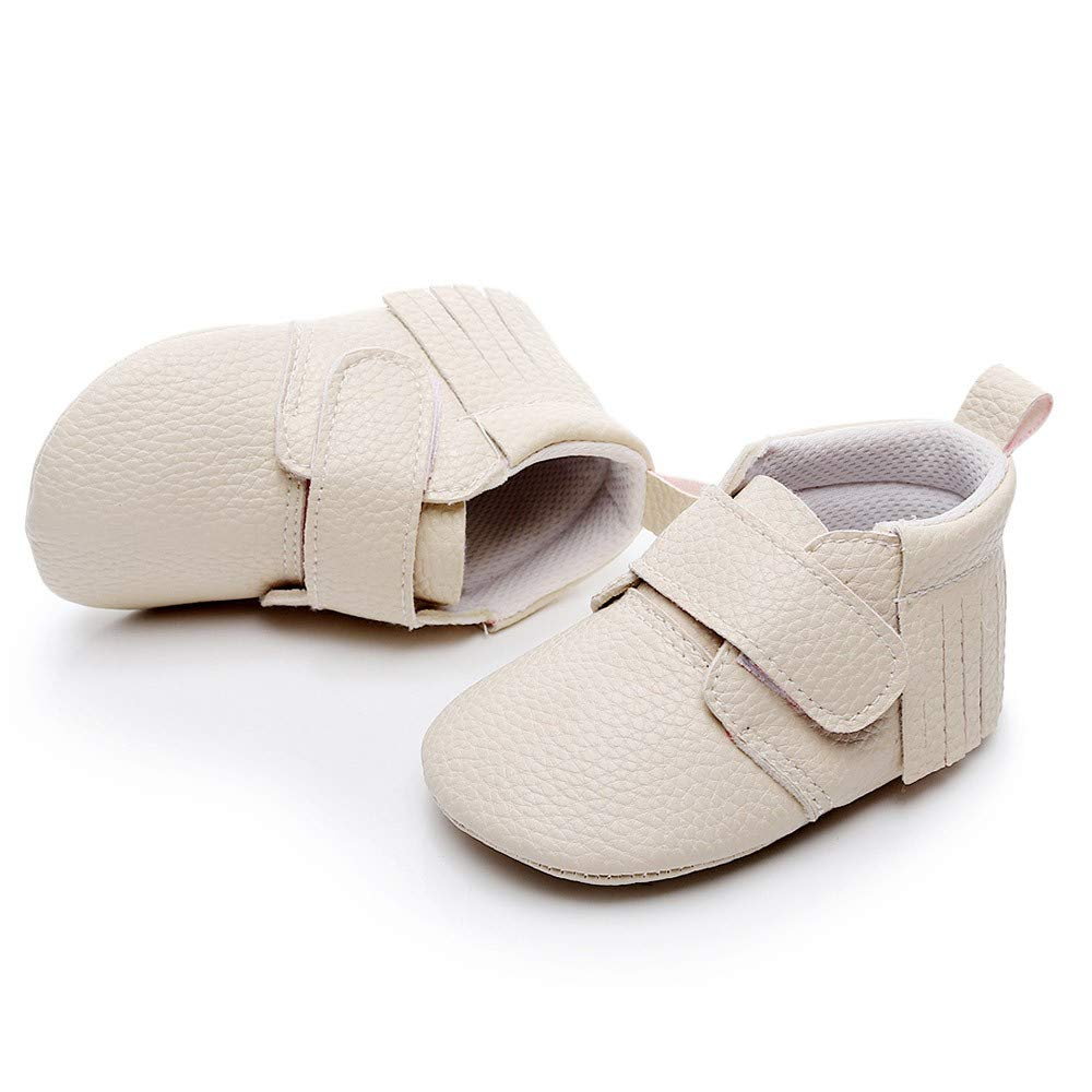 IGEMY/_baby Scarpe Primi Passi Bambine Bianco White 0,25