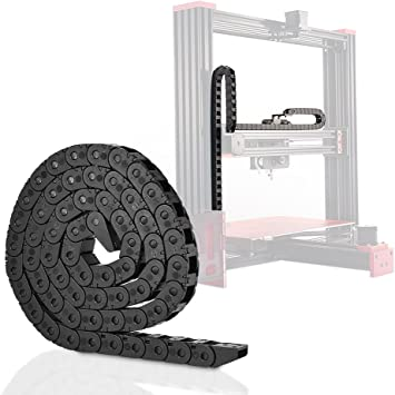 Aibecy Cadena de arrastre de Impresora 3D de 10 * 11mm y 1 metro ...