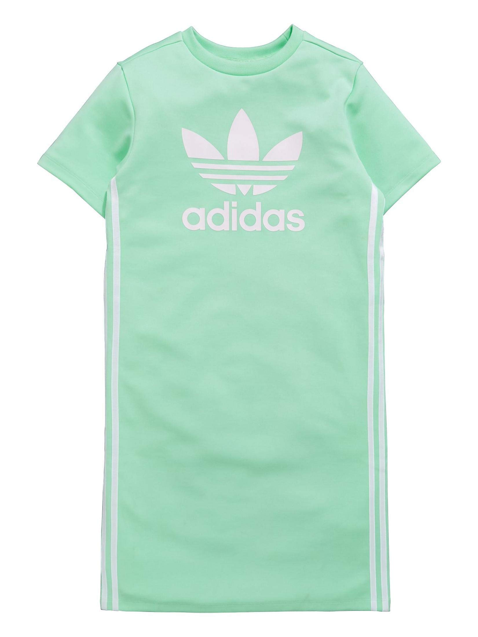adidas Originals Girls Tank Sleeveless Zoo Dress (Large, Clear Mint/White) by adidas Originals