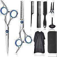 JOKBEN tijeras de peluquería, Tijeras Peluquelo Profesional para el cabello, Tijeras Peluqueria Profesional con capa de…