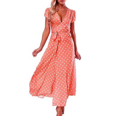 Sexy polka dot dress