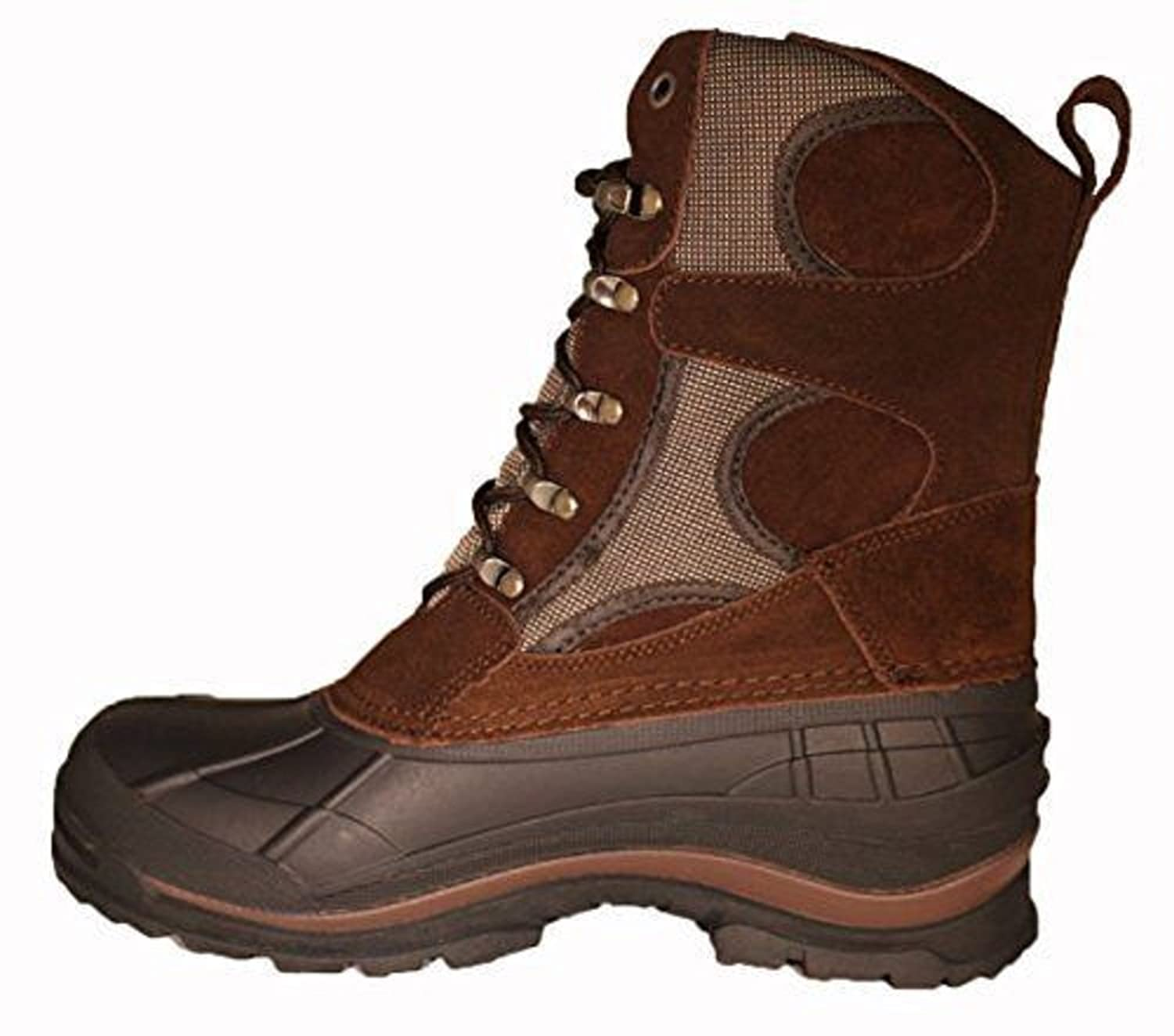 Amazon.com | EURBAK MEN'S EXTRA WIDE WIDTH WINTER BROWN BOOTS ...