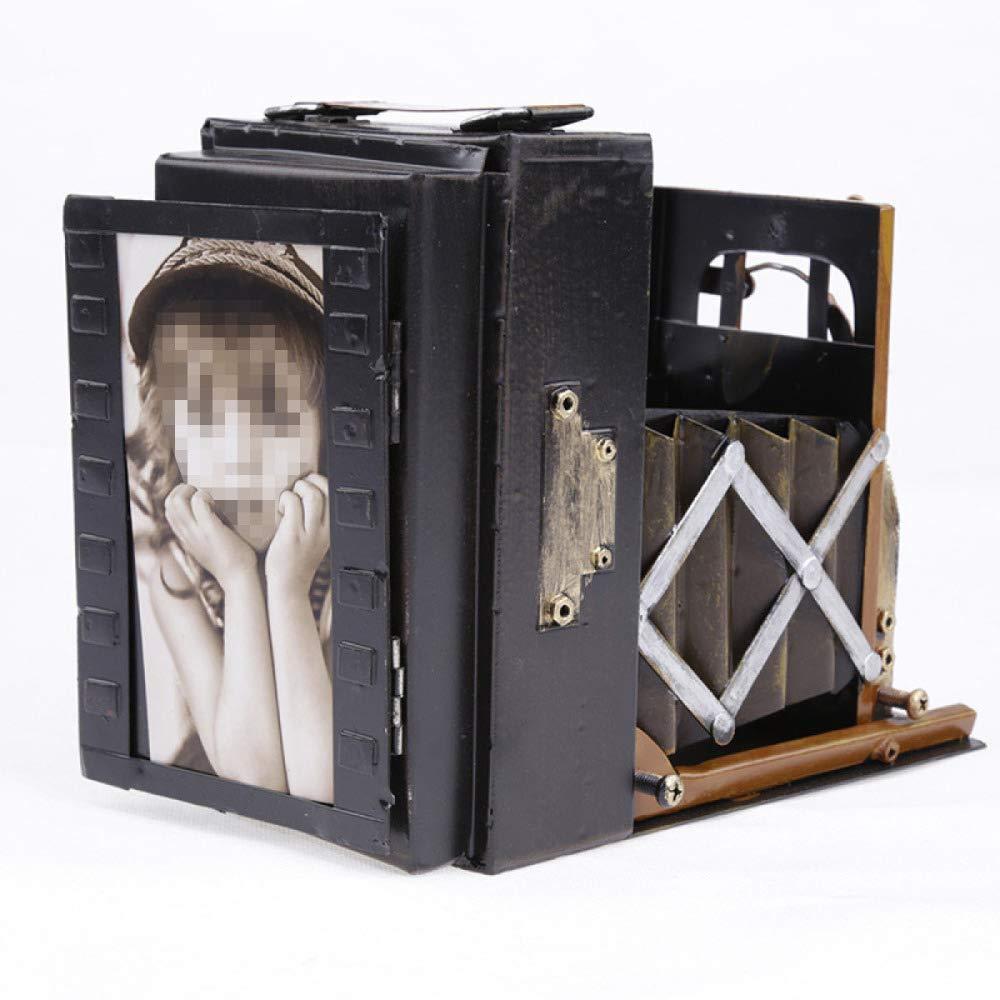 KWWA Fotografie Requisiten Vintage Zinn Kamera Modell Ornamente,Metallic