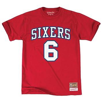 a31fc5687e49 Mitchell   Ness Julius Erving Philadelphia 76ers NBA Men s Player S S T- Shirt
