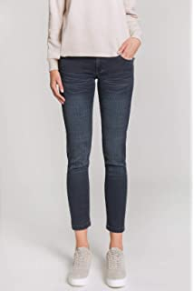 d4fb279c773f2 BlueFire Damen Capri-Jeans Tyra Skinny Fit 3/4-Länge Stoned Blue (81 ...