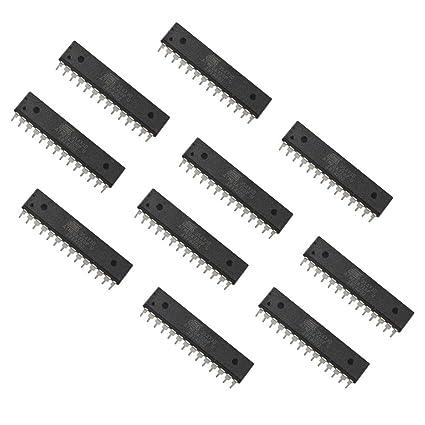flashtree 【10 pcs】 Atmega328P-PU ATMEGA328P-U MCU Microcontroller