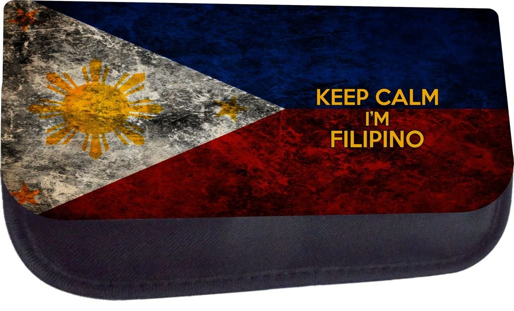 School Messenger Bag and Pencil Case Set Keep Calm Im Filipino Jacks Outlet Inc