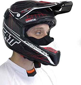 Amazon.es: Leatt Kit de invierno GPX 5.5/6, 5 máscara y Vent bloques adultos casco de accesorios para Moto - negro