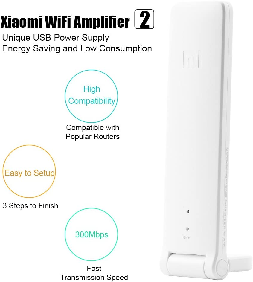Original Xiaomi WiFi Repeater 2nd Router Wifi Amplifier Signal Extender Booster