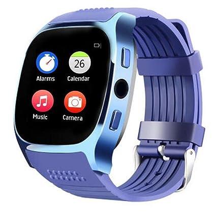 Amazon.com: T8 M reloj inteligente con monitor de ritmo ...