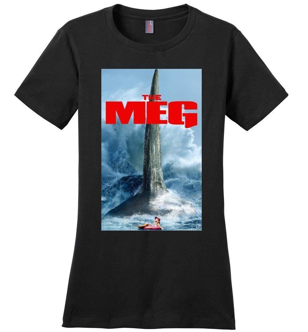 Megalodon Shark Woman T Shirt The Meg Woman T Shirt Gift Idea 6043
