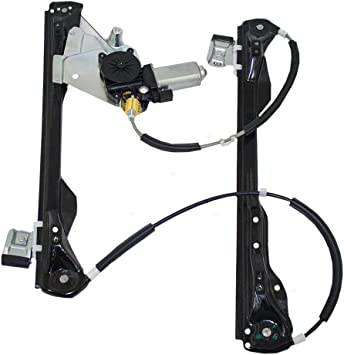 Power Window Motor and Regulator Assembly Front Left fits 08-11 Ford Focus