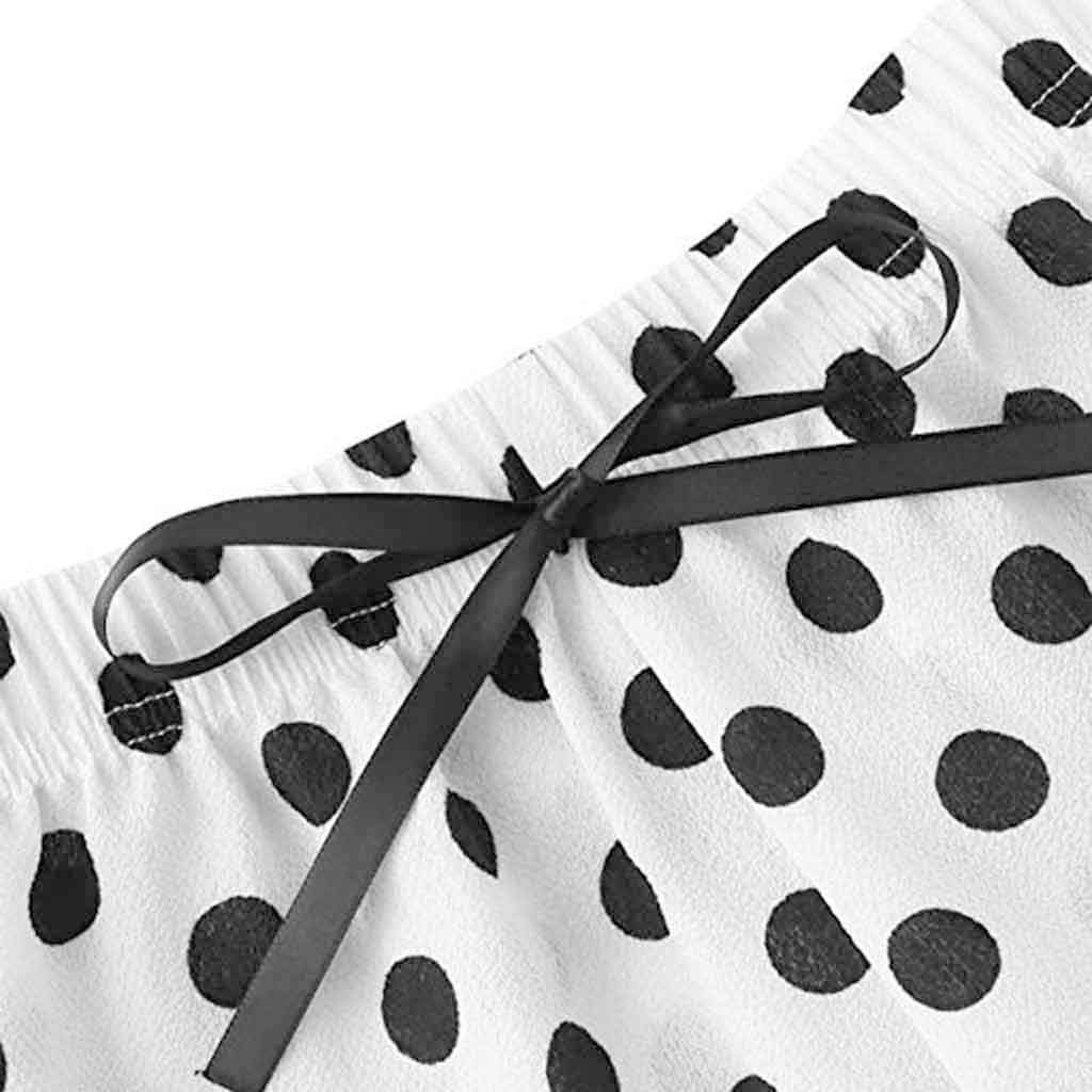 Mymyguoe Mode Teenager M/ädchen Negligee Set s/ü/ße Spitze Gitter Druck Unterw/äsche und Shorts Pyjama Set Schlafanz/üge W/äsche Set Sleepwear