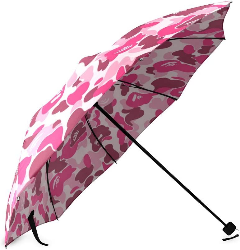 Military Camo Camouflage Pattern Compact Foldable Rainproof Windproof Travel Umbrella