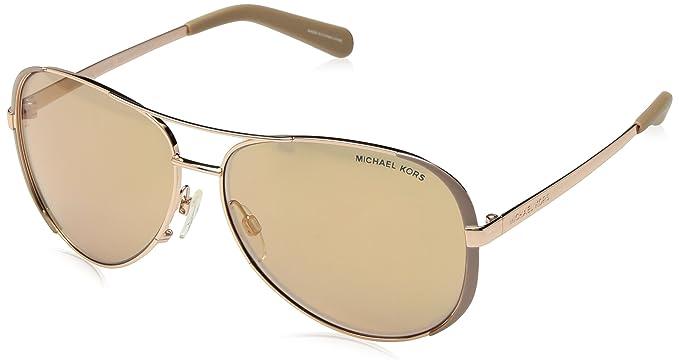 c67fec618c24 Amazon.com: Michael Kors MK5004 Chelsea Sunglasses, Gold: Michael Kors:  Shoes