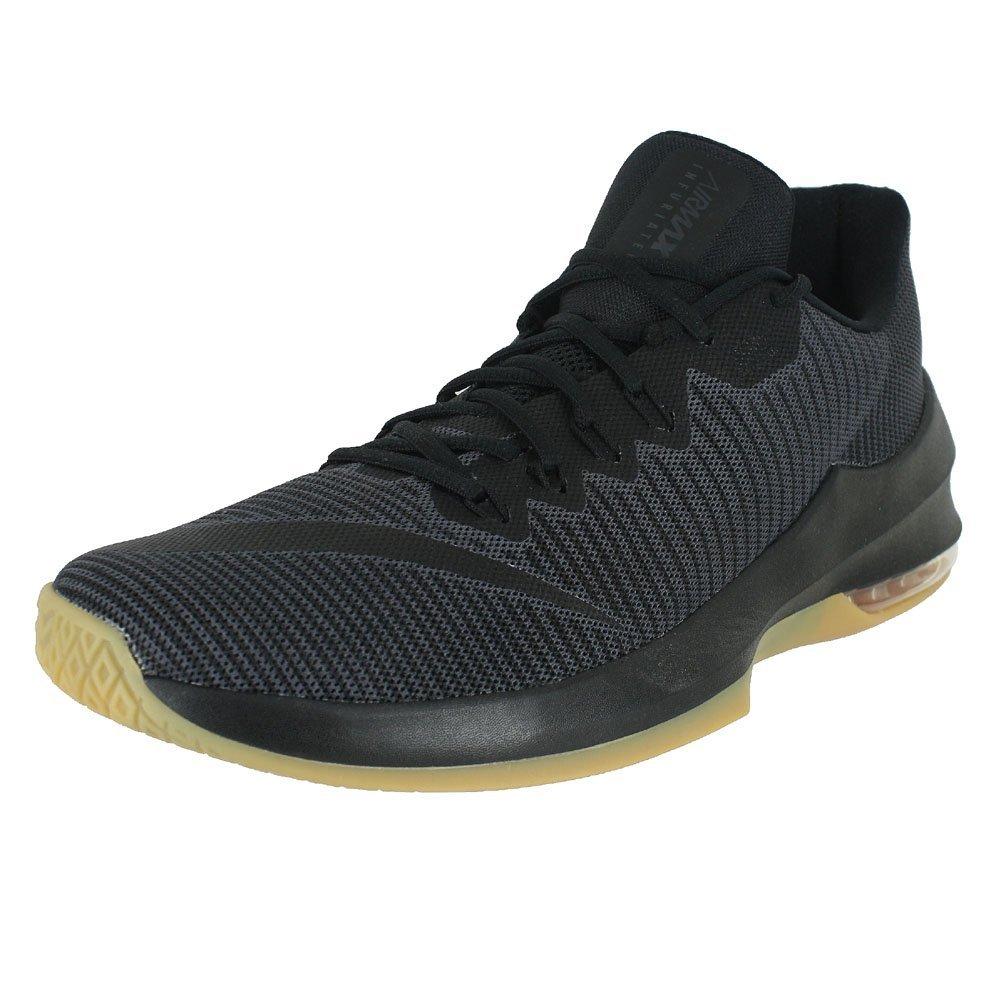 Anthracite noir Gum marron Nike Air Max Infuriate II, Chaussures de Basketball Homme