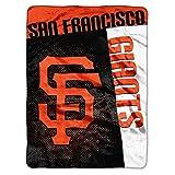 "MLB San Francisco Giants Strike Plush Raschel Throw, 60"" x 80"""