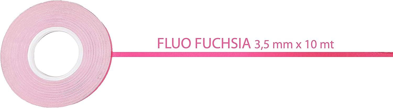 Fluoreszierendes Pink Rolle 3,5 mm x 10 mt Metri 4R Quattroerre.it 10203 Dekorstreifen selbstklebend Rosa