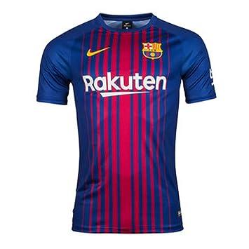 Nike Camiseta de fútbol para casa Barcelona 2017-2018, diseño