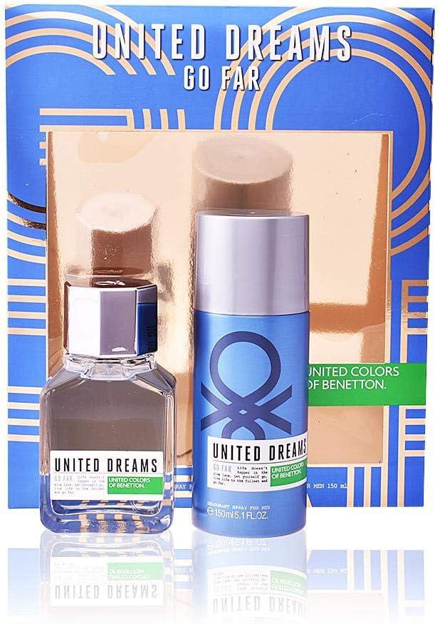 Estuche go far spray 100ml + desodorante 150ml.