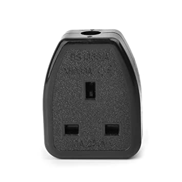 buy eesxin assembled uk standard power socket wiring outlet adaptor british  plug 13a 250v online at low prices in india - amazon in