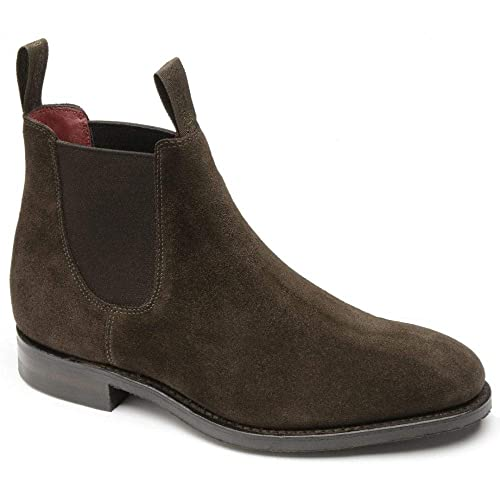 new styles 80cd9 c1f0d Loake Womens Chatterley Suede Chelsea Boots: Amazon.co.uk ...