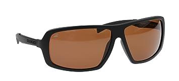 Serengeti Gafas de Sol Modelo Alassio Negro Mate, Lentes de Cristal Fotocromático Polarizadas Para Conductores