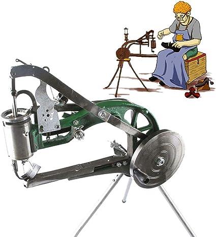 Industry Muanl Cobbler Shoe Repair Machine Dual Cotton Nylon Line Sewing Machine