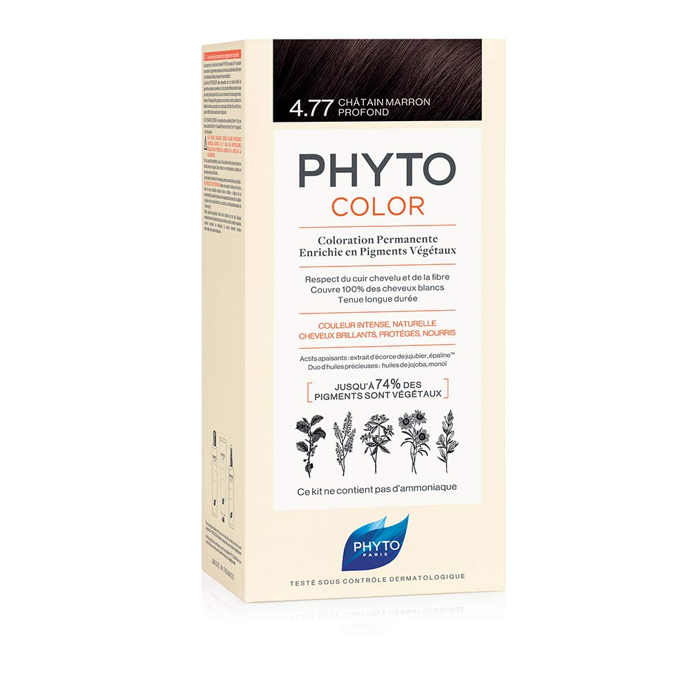 Phytocolor Coloración Permanente 4.77 Marrón Marrón