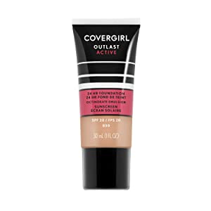 Covergirl Outlast Active Foundation, Creamy Beige, 1 Ounce