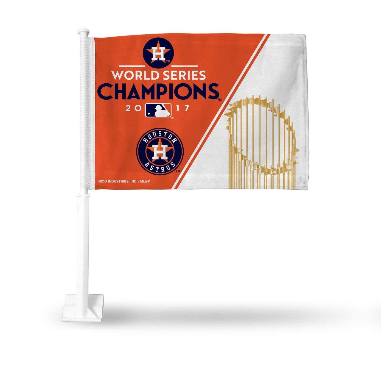 Rico Houston Astros 2017 World Series Champions Car Flag