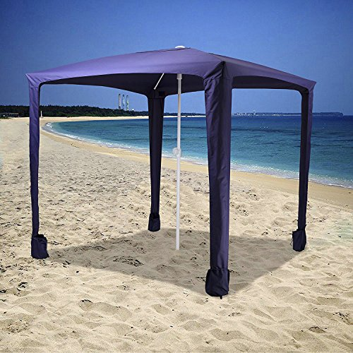 Ammsun 6 5ft X 6 5ft Canopy Outdoors Beach Amp Sports Cabana