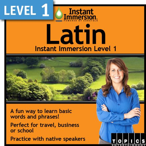 Instant Immersion Level 1 - Latin [Download] by Topics Entertainment