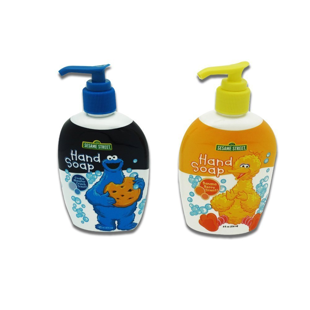 Amazon.com : Sesame Street Hand Soap, Banana Berry & Cookie Monster ...