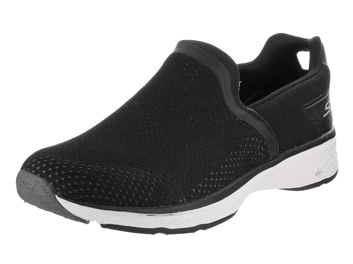 noir blanc 43 EU Skechers Perforhommece Go Walk Sport Energy Hommes's Slip On Slipper