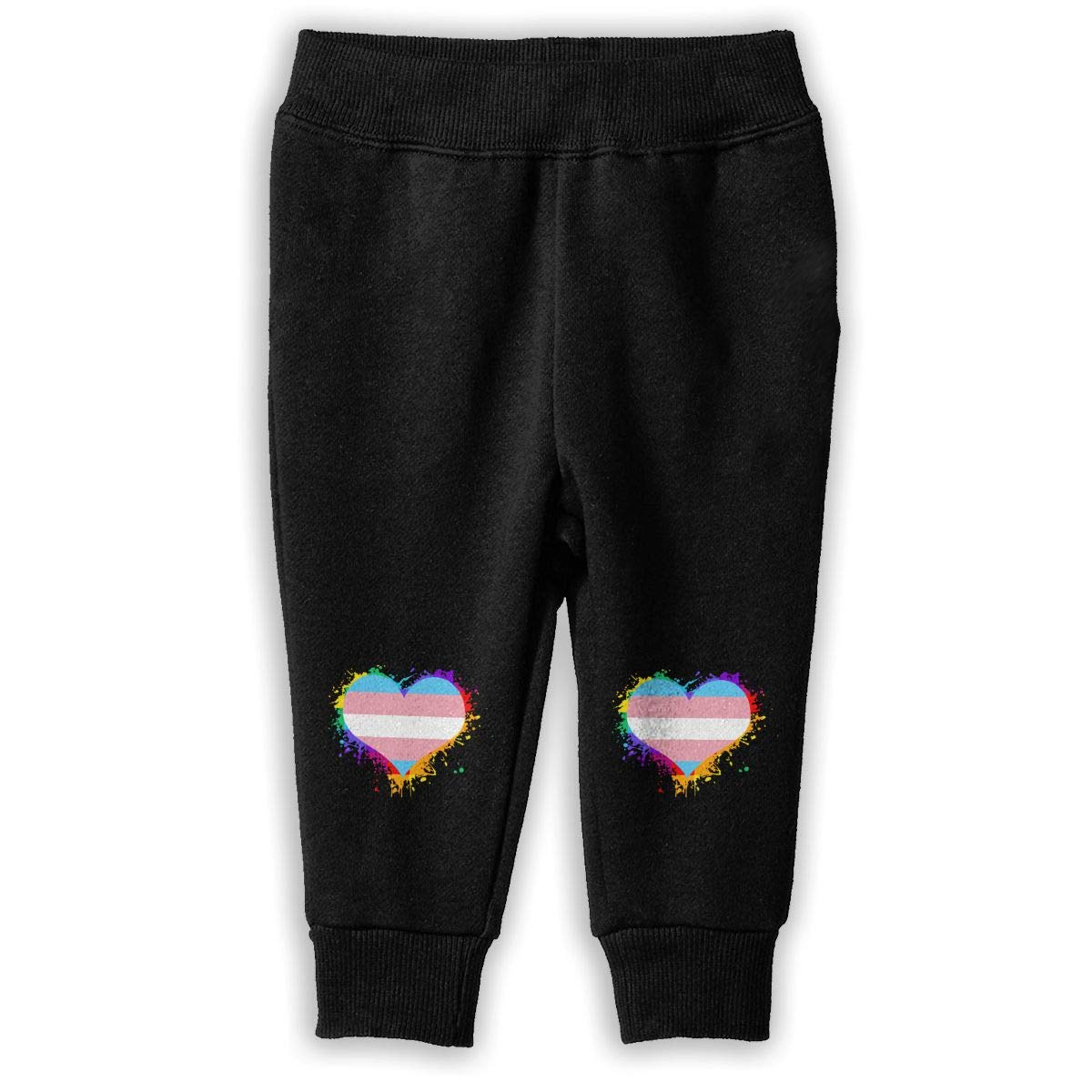 Kids /& Toddler Training Pants NJKM5MJ Transgender Flag Heart Sweatpants