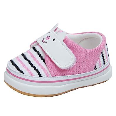 Amazon.com: Kuner Zapatos de dibujos animados para bebé ...