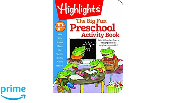 Amazon.com: The Big Fun Preschool Activity Book (Big Fun Activity ...