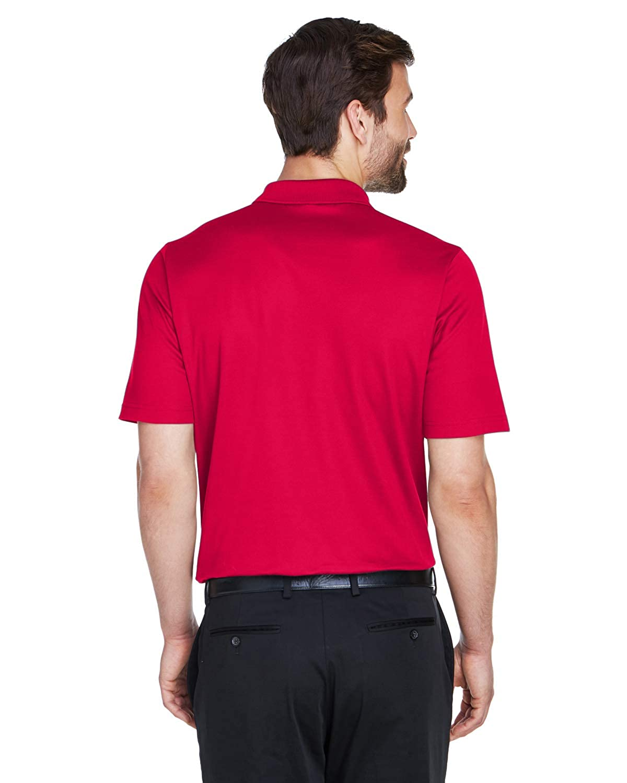 A Product of Devon /& Jones CrownLux Performance Mens Plaited Polo Bulk Disco Red